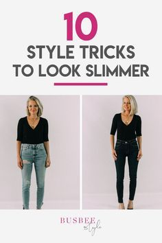 10 Style Tricks on How To Instantly Look Slimmer! | Busbee Style