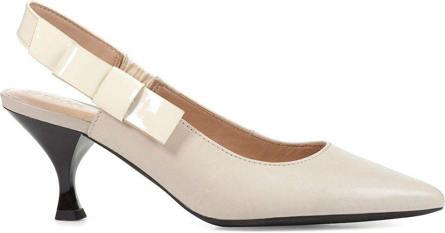 Geox ELISANGEL MID : CREAM Womens | Shoes in 2019 | Heels
