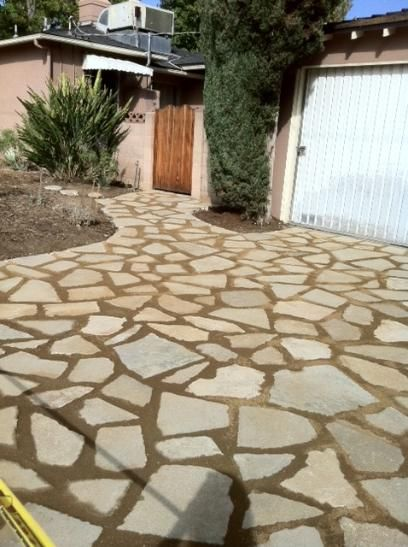 Recycled Concrete Driveway
