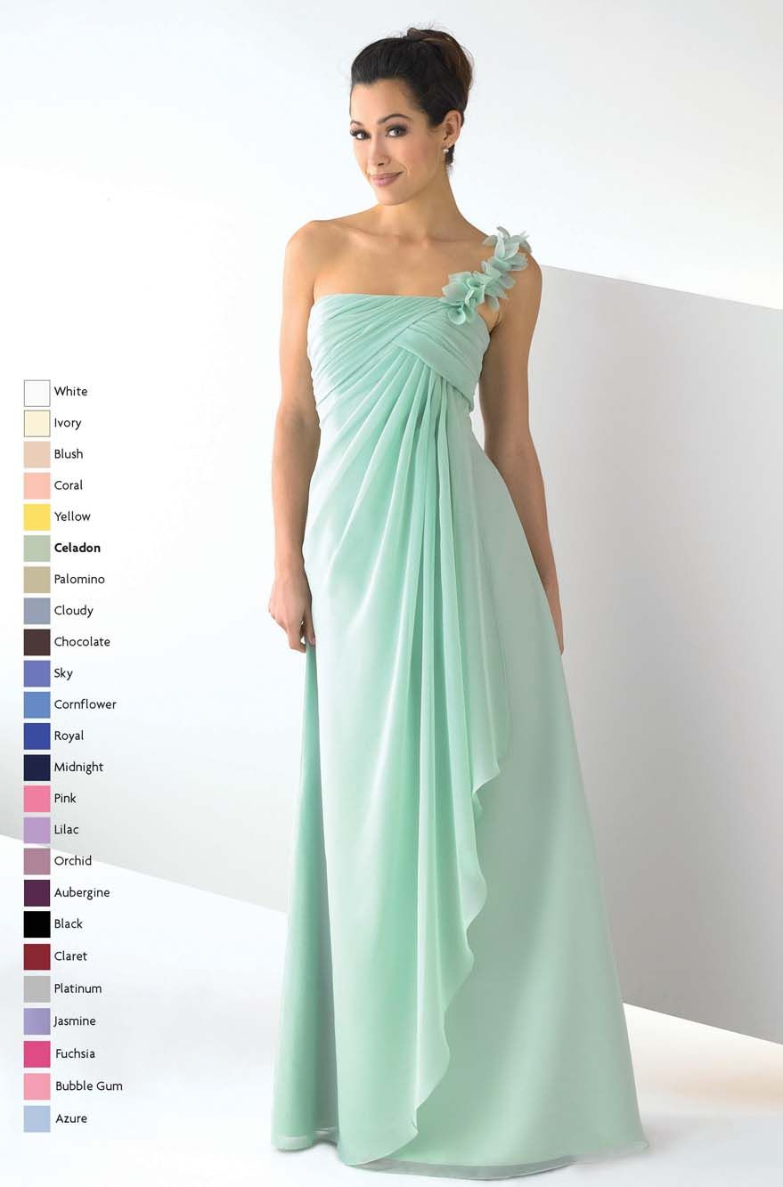 Collection One Shoulder Formal Dresses Pictures - Reikian