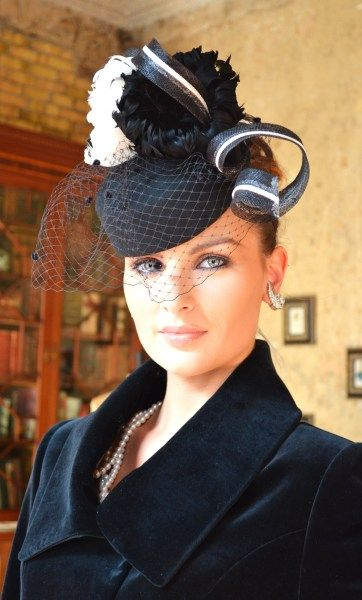 Polly McGettigan  hats. Compare fascinator hat styles on Amazon at http    0e611c2a28d