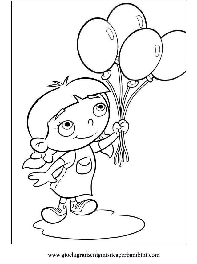 little Einsteins coloring page - balloons | Party: Fairies (Sydney ...