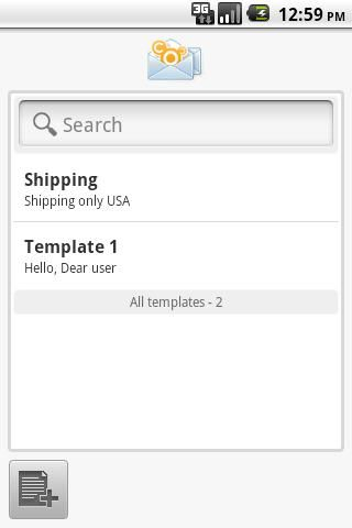 Create And Save Message Templates Android Apps For EBay Sellers - Ebay message templates