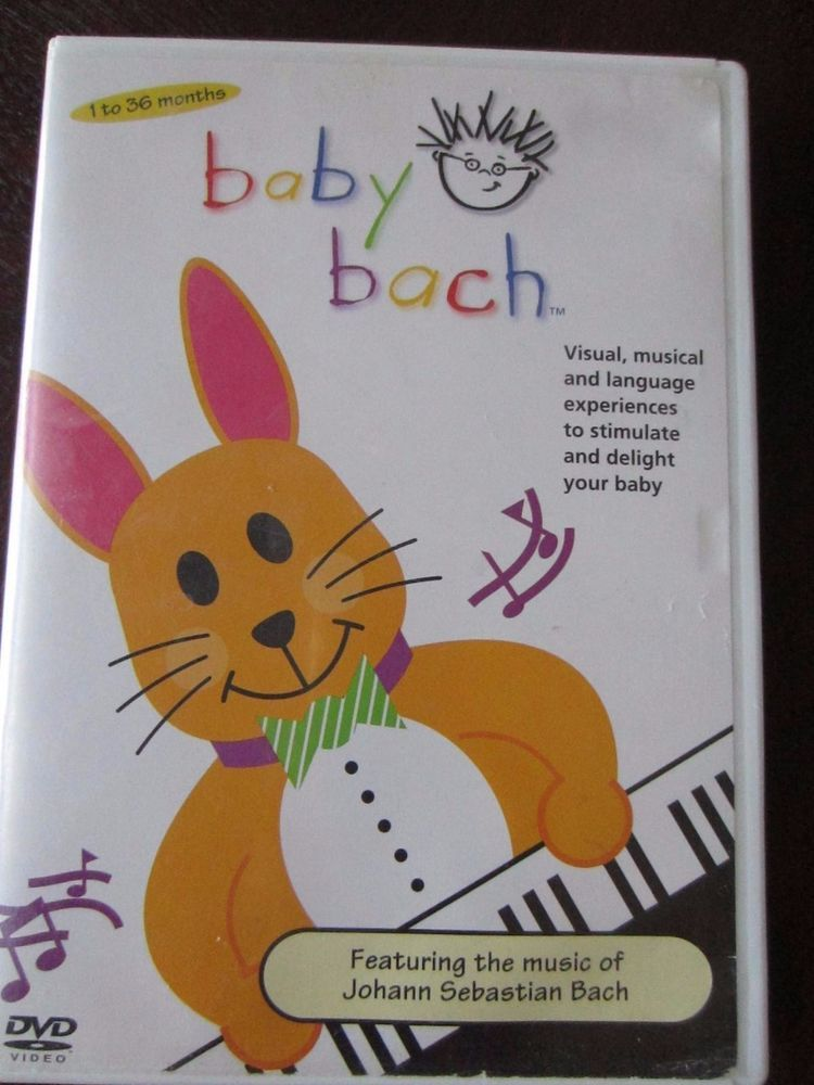 Baby Einstein Baby Bach Dvd In Dvds Amp Movies Dvds Amp Blu