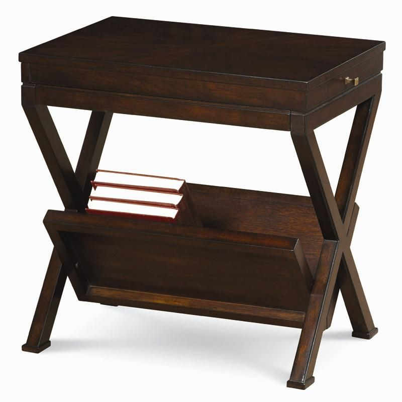 Best Lincoln Park Magazine Rack Chairside Table By Schnadig 640 x 480
