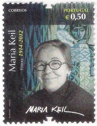 Pintora e ilustradora portuguesa/ Portuguese illustrator and painter; modernismo português/ portuguese modernism;