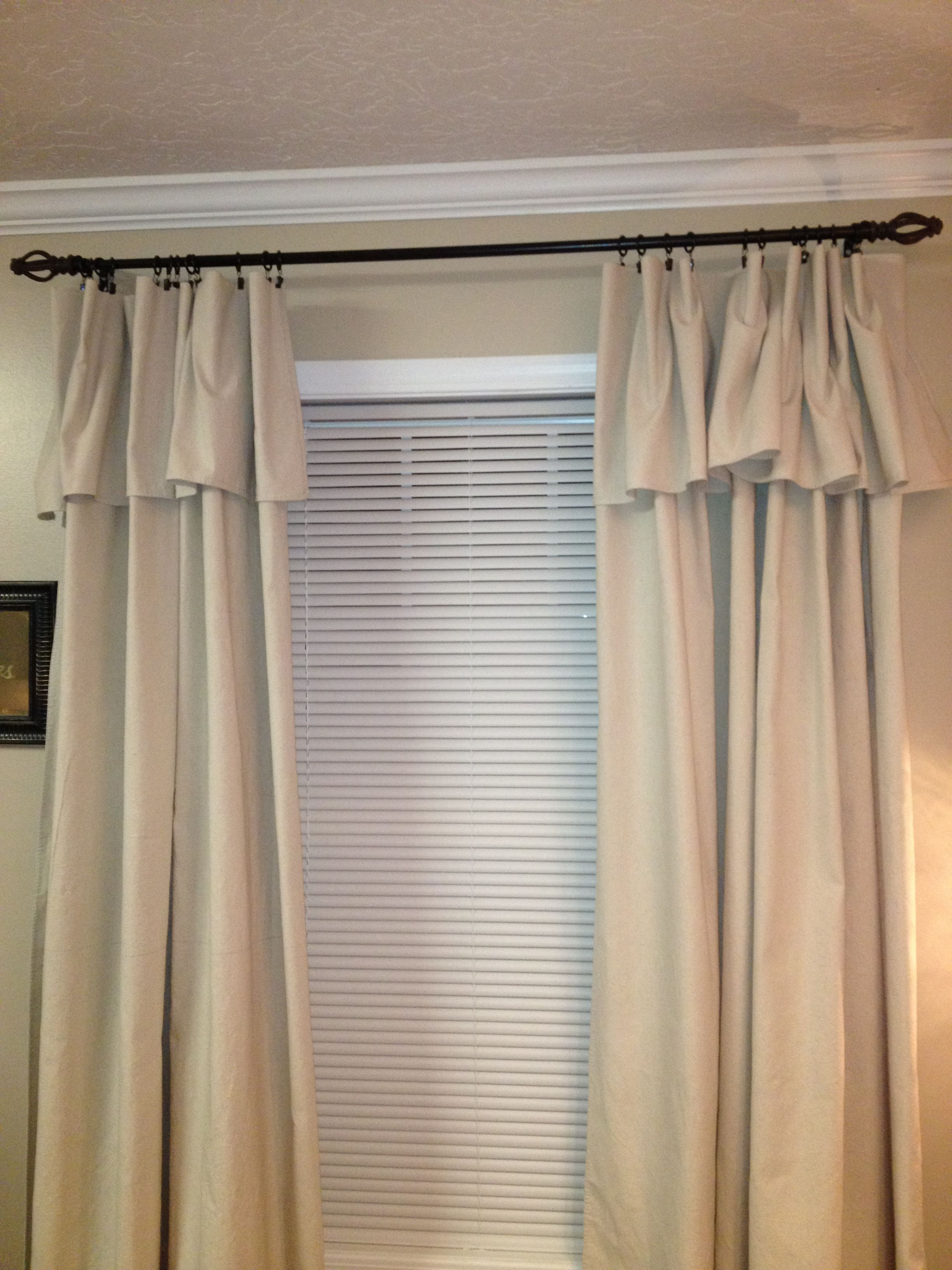 Curtains Made From Canvas Drop Cloths Drop Cloth Curtains Curtains Living Room Diy