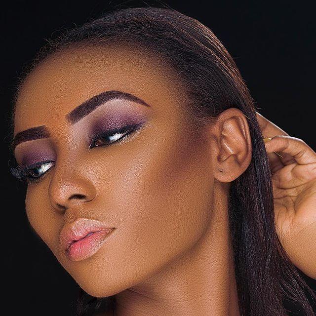 Stunning makeup by @ibt_faces @libartystudios model @vincentkimberly #sugarweddings