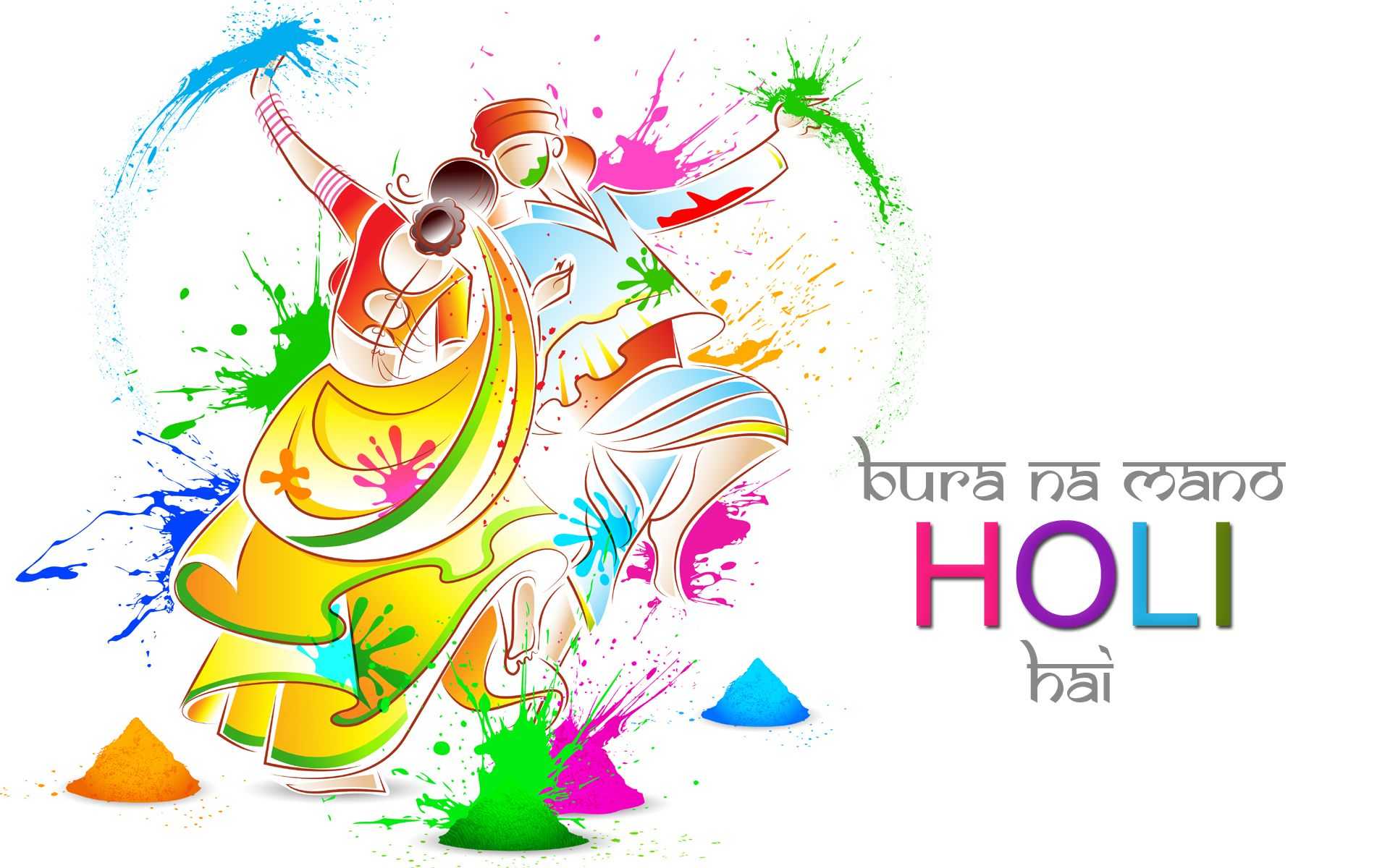 bura na mano holi hai hd wallpaper Happy Holi, Wallpapers ...