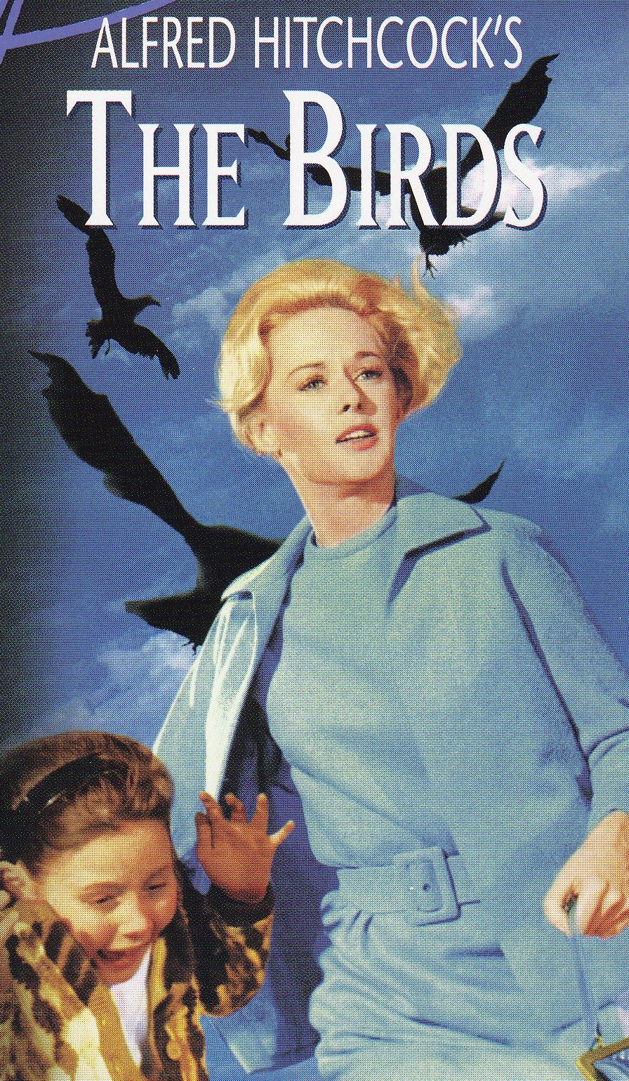 The Birds..1963 - directed by.Alfred Hitchcock starring Tippi Hedren, Rod Taylor, Jessica Tandy, Suzanne Pleshette and a young Veronica Cartwright.