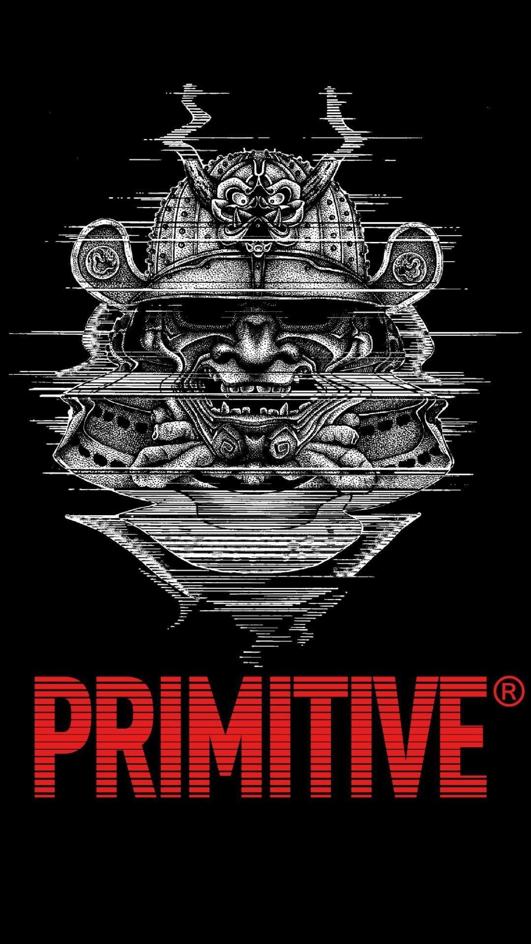 Primitive Skateboarding Samurai Wallpaper in 2020
