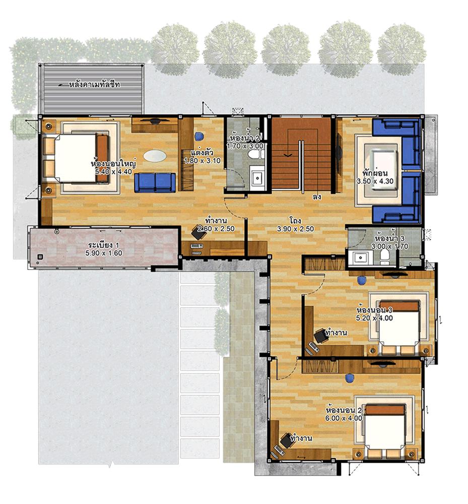 House Plans Idea 15x15 5 With 4 Bedrooms House Plans 3d House Plans Bedroom House Plans 4 Bedroom House