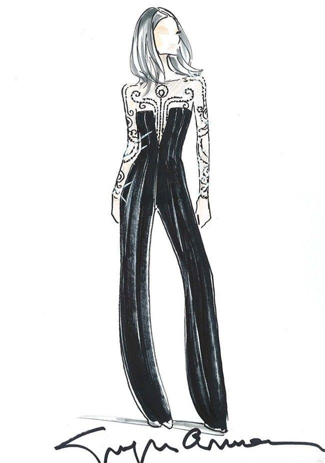 Noticias Sobre Moda Belleza Celebrities Salud Y Deco Mujerhoy Com Bocetos De Moda Bosetos De Moda Ilustracion De Moda
