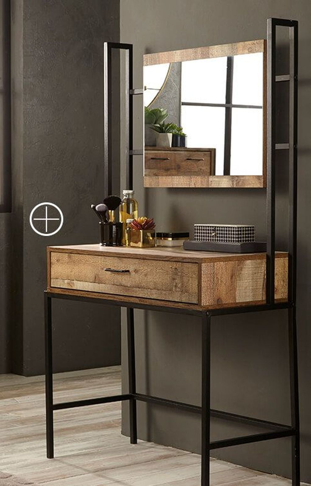 40 Amazing Dressing Table Design Ideas To Try Asap | Metal ...