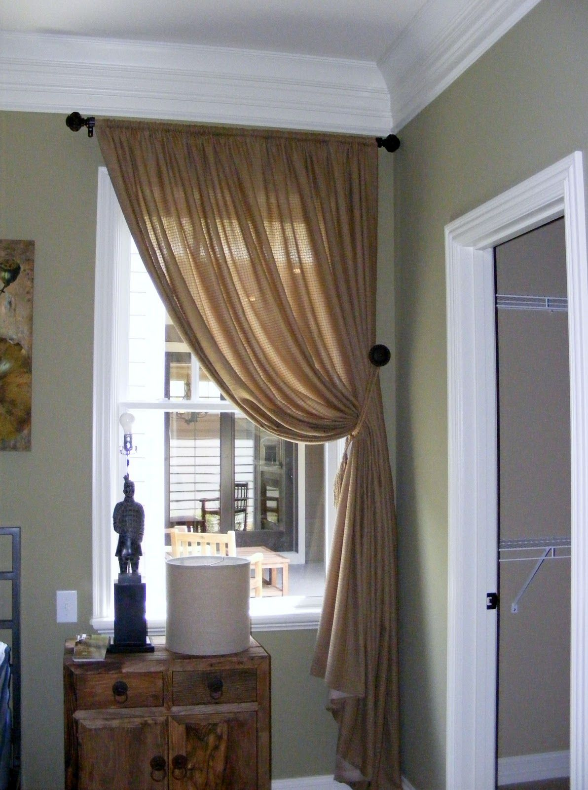 Adorn Design S Blog Drapery Ideas Brown Curtains Small Window Curtains Home