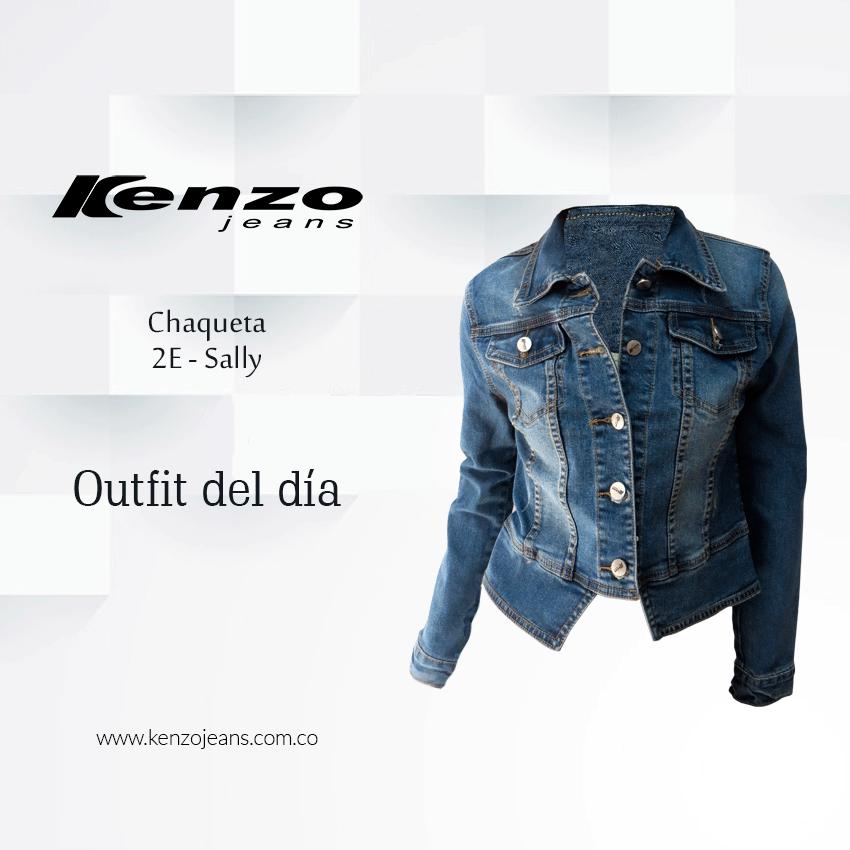 Buenas tardes, completa tu outfit de hoy con una chaqueta en denim #KenzoJeans Conoce más en www.kenzojeans.com.co
