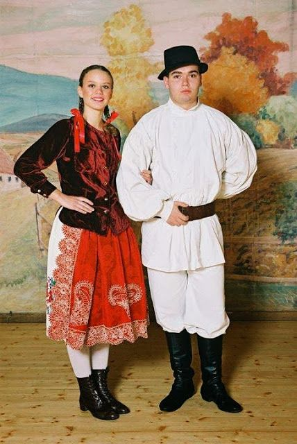 Overview Of Croatian Costume Part 1 Western Pannonian