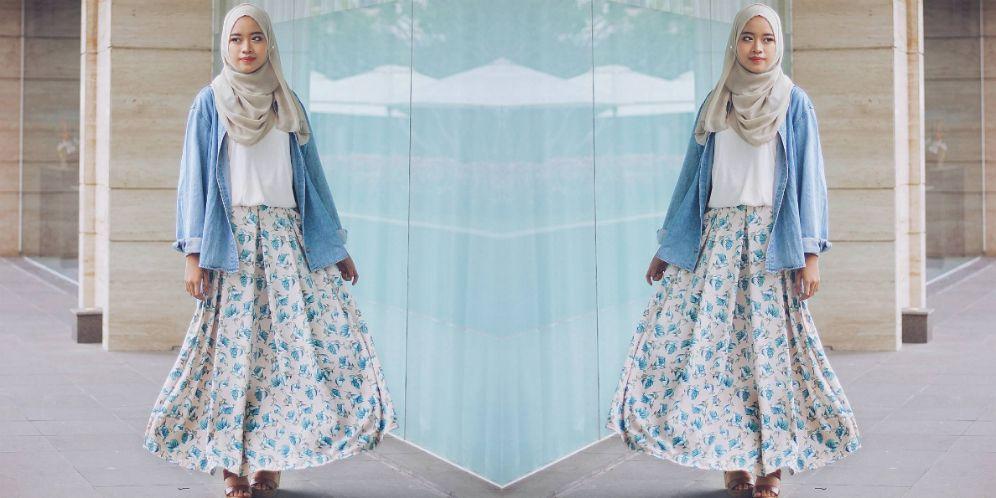 Ardiatami Nostalgia Tema Busana 90an Dreamcoid style hijab