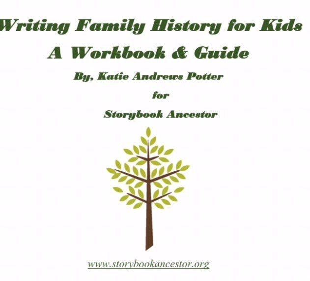 writing family history for kids free family history workbook for