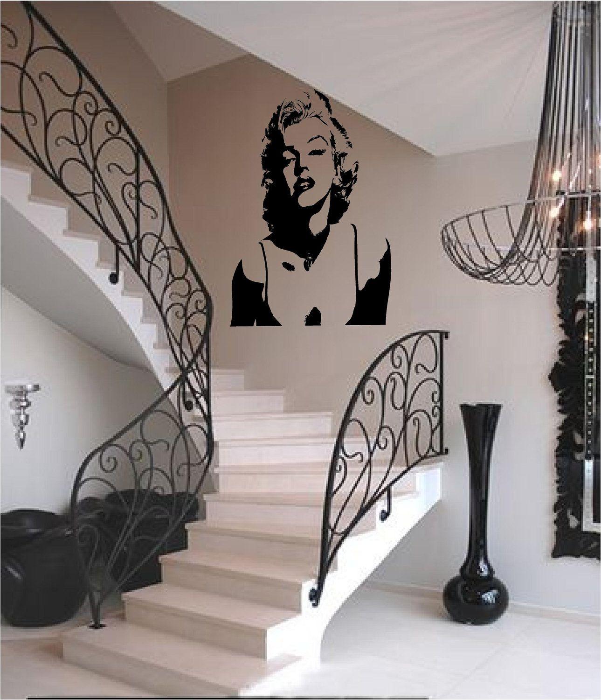 Marilyn Monroe Silhouette On My Wall Deco Marilyn