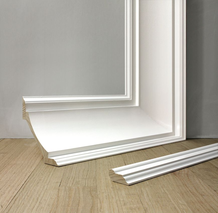 Colonial Revival Moldings 20th Century Style Windsorone Colonial Revival Colonial Style Interior Baseboard Styles