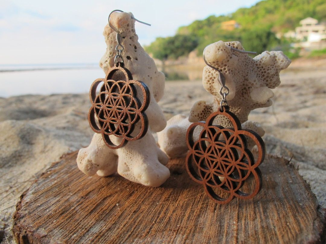 The flower of life symbol represents important meaning to