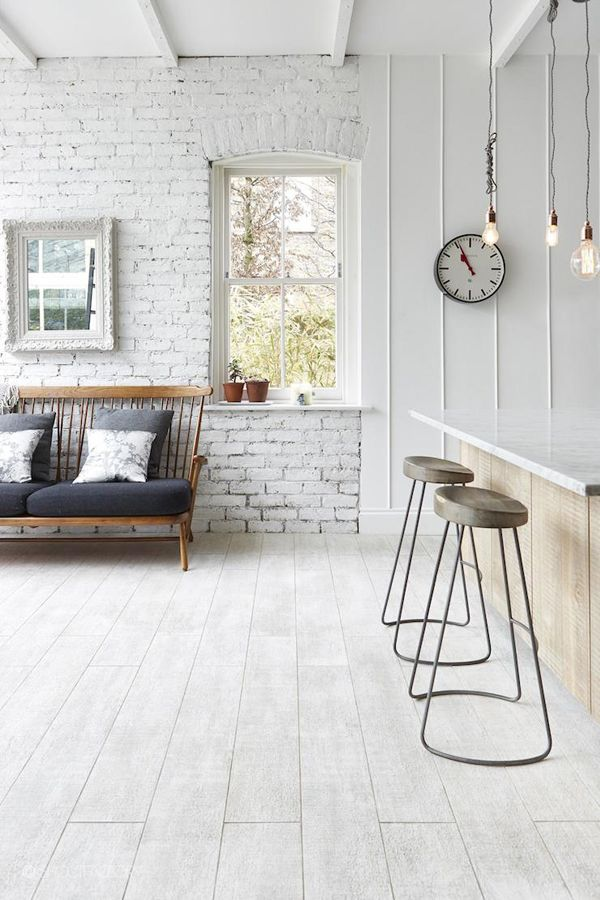 Create An Elegant Statement With A White Brick Wall Trending