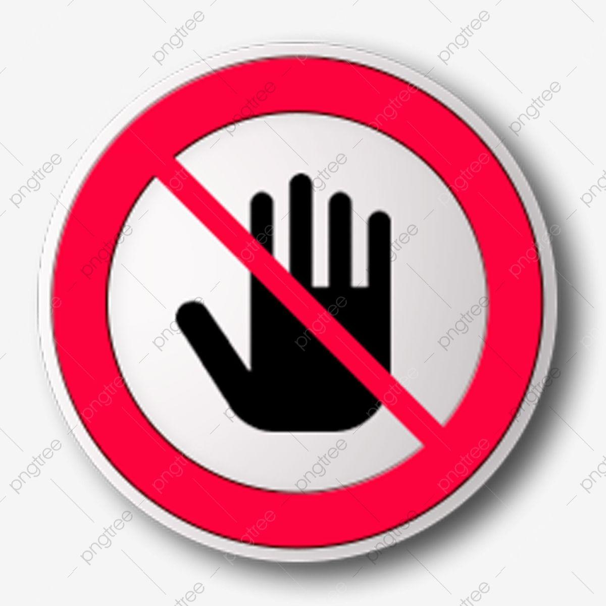 ممنوع الدخول رسم كاريكاتوري كف رمز محظور لا جولة رمز تذكير الكرتون Png وملف Psd للتحميل مجانا Instagram Logo Location Icon Logo Facebook