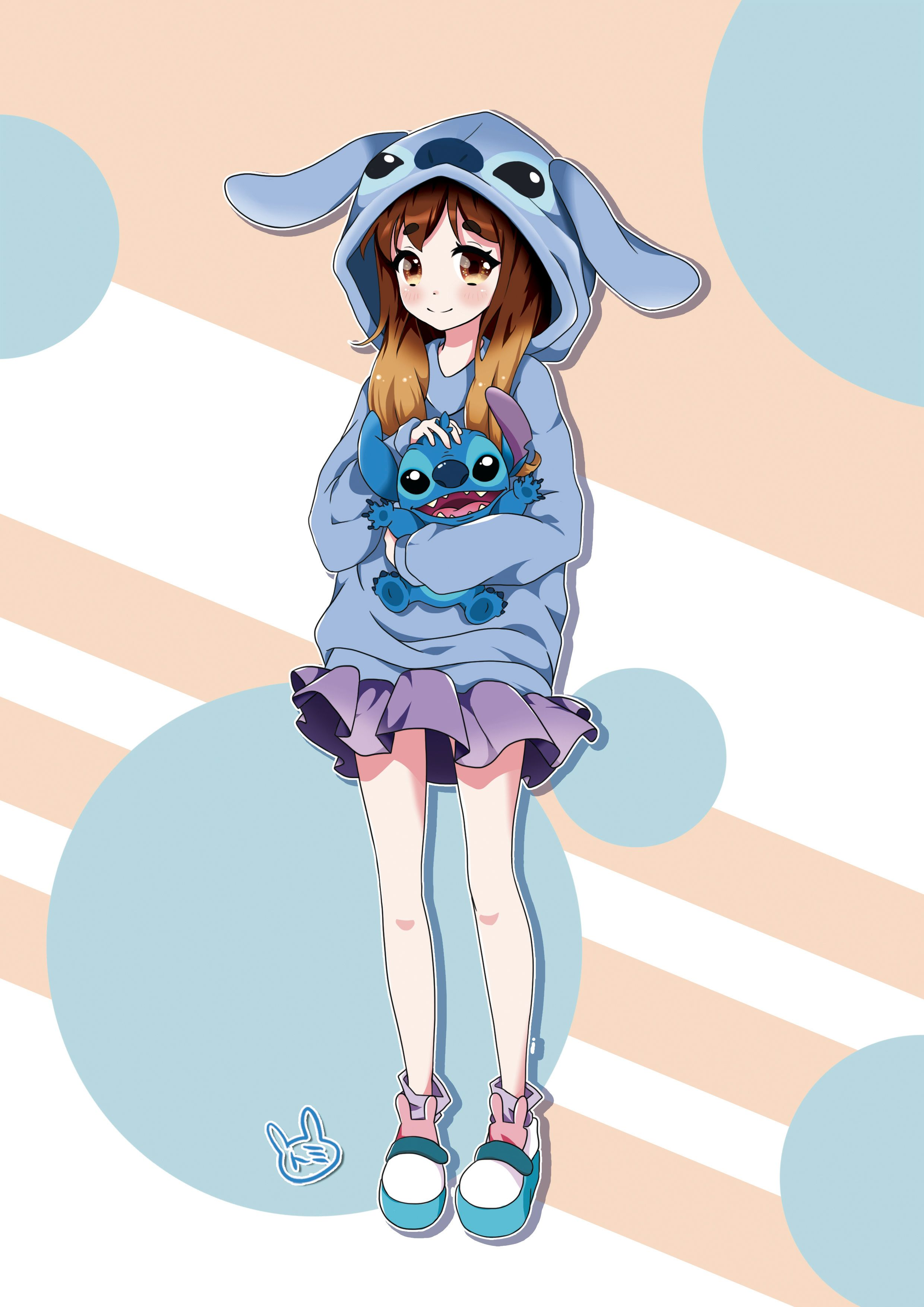 Commission Jade By Ushishio On Deviantart Cute Stitch Cute