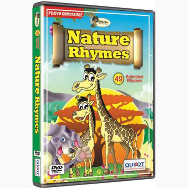 Nature Rhymes — The Gladness of Nature in the form of nature rhymes for children. This DVD is a collection of various rhymes related to nature for kids.