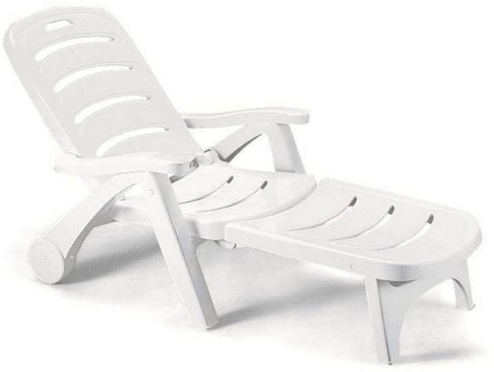 Scab Design Stella Di Mare Gartenliege Kunststoff Weiss In 2020