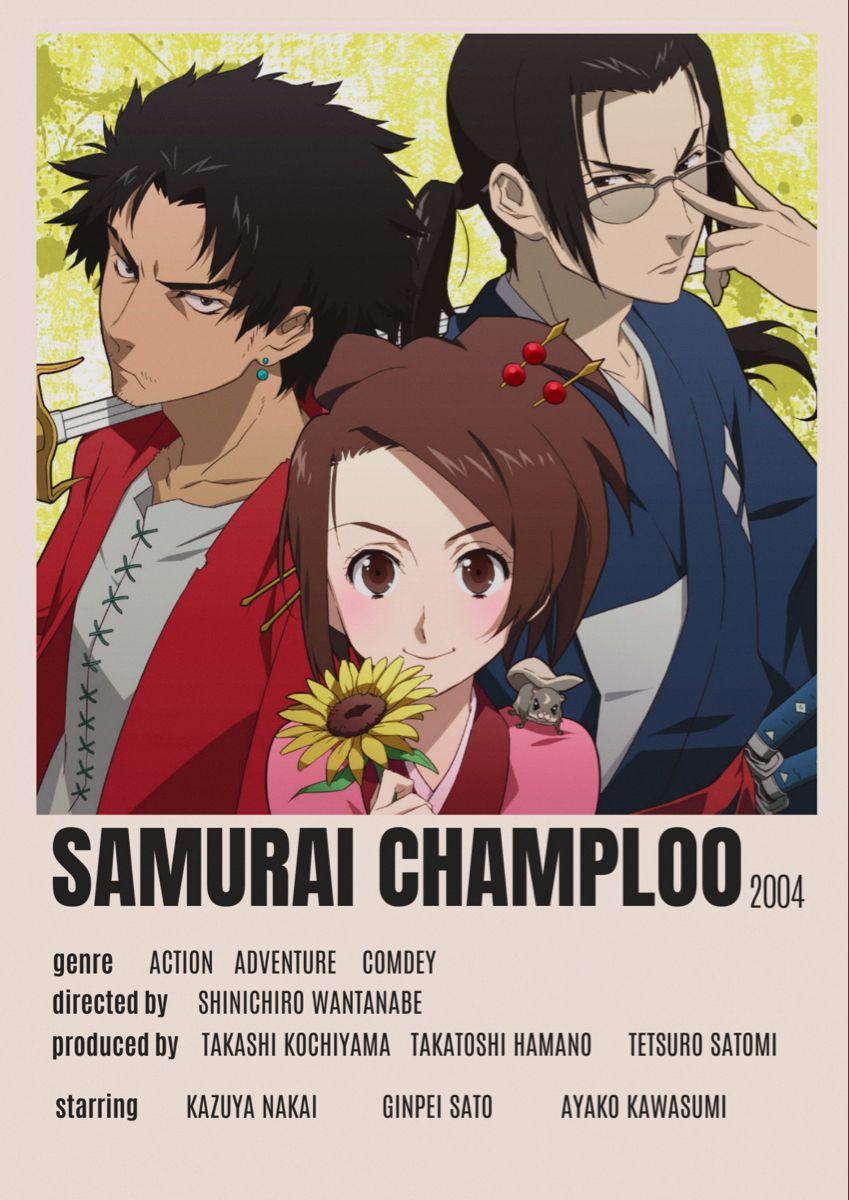 samurai champloo minimalist poster