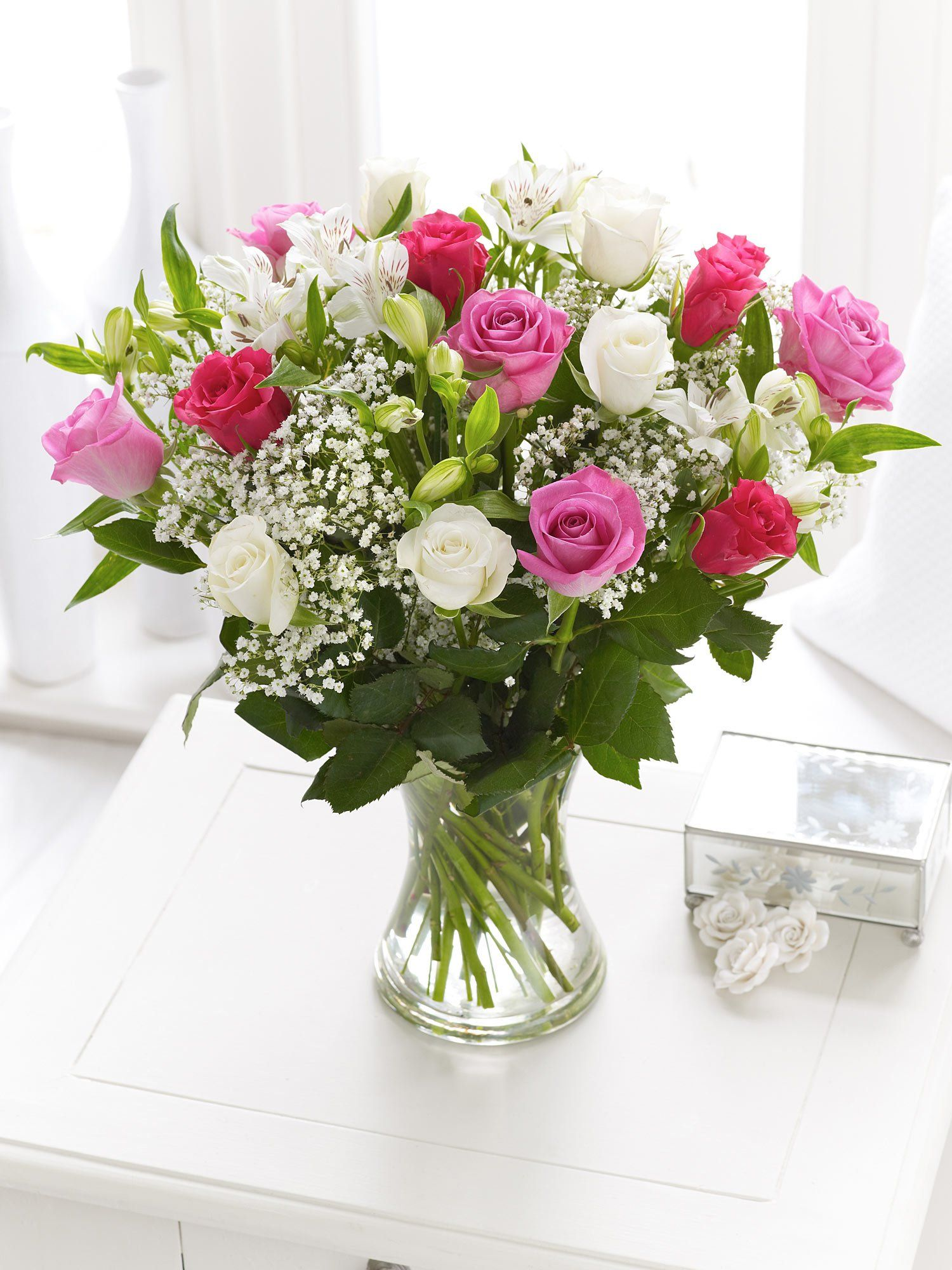 Fairtrade Rose and Alstromeria (Interflora) Flowers