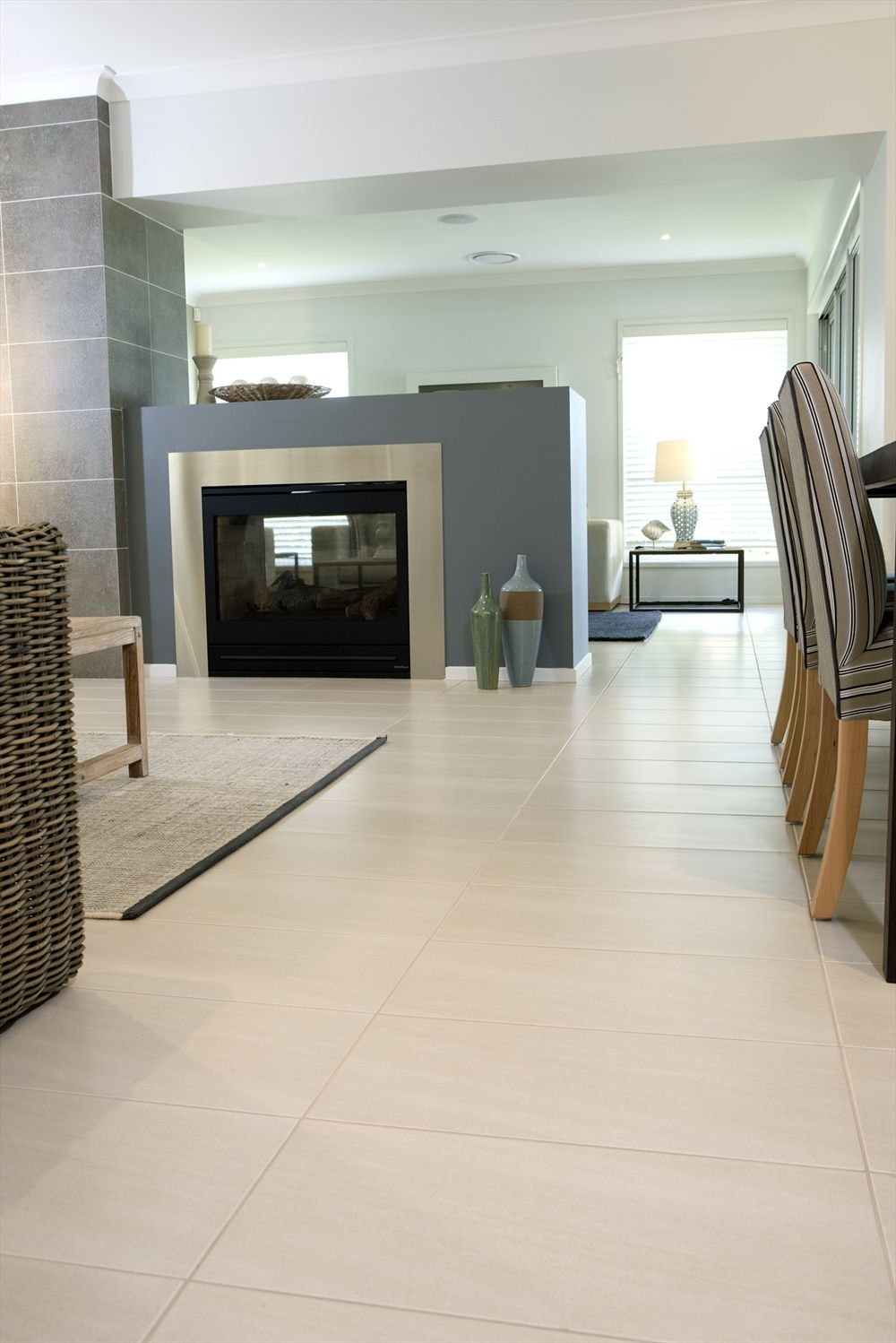What Do You Think Of This Living Rooms Tile Idea I Got From Beaumont Tiles?