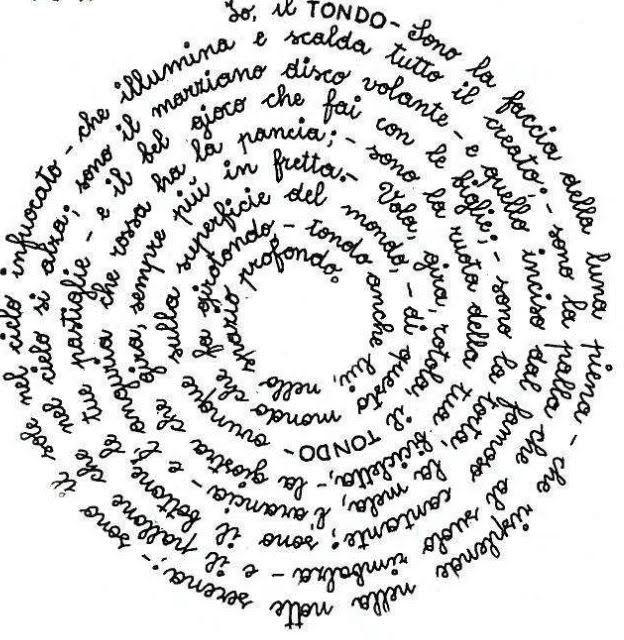 calligramma mano