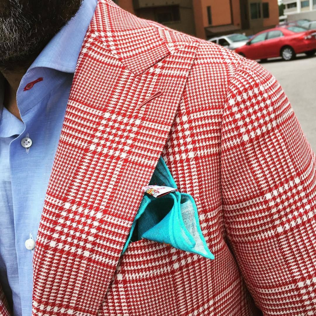 Trendy butler red flannel  bespoketwins ucMark u Marlon Austin for Bespoke Couture The Real