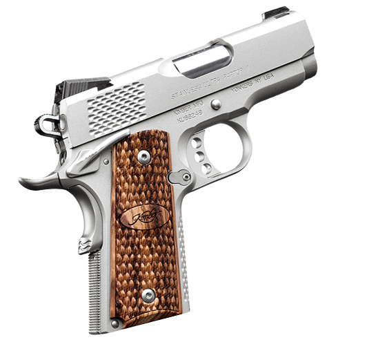 Kimber 1911 Stainless Ultra Raptor II - A compact and