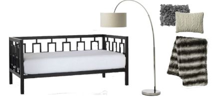 Knockout Knockoffs: West Elm Modern Daybed Guest Space