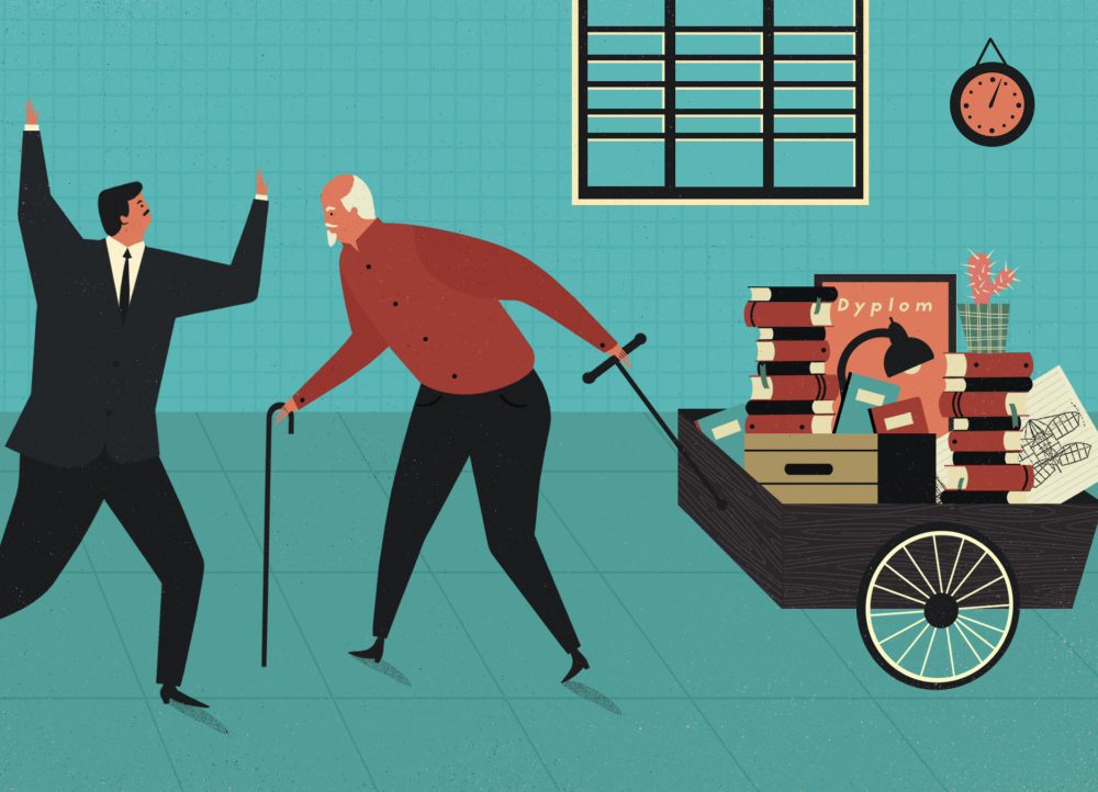 Harvard Business Review  A Selection Of Illustrations On Behance