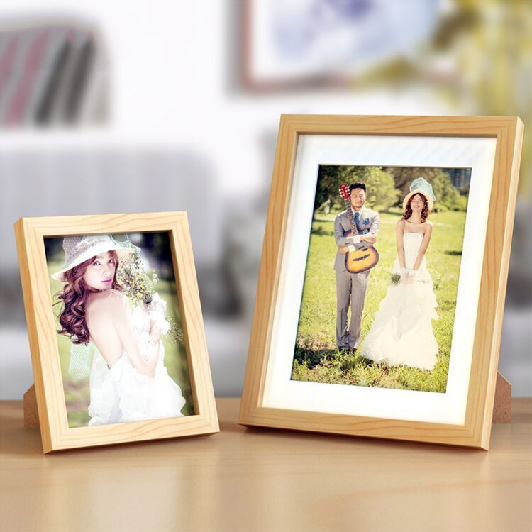Find More Frame Information about New Photo Wood Frame Modern Place On Table Quadra Real Madura Marcos De Foots Solid Simple Solid Picture Wooden Frame,High Quality frame triathlon,China frame giant Suppliers, Cheap frame time from Handicraftsman on Aliexpress.com