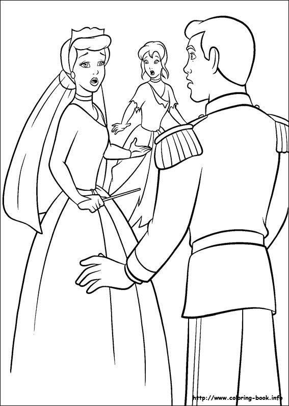 Pin By Isabelle Le On Bricolage Couture Cinderella Coloring Pages Disney Princess Coloring Pages Disney Coloring Pages
