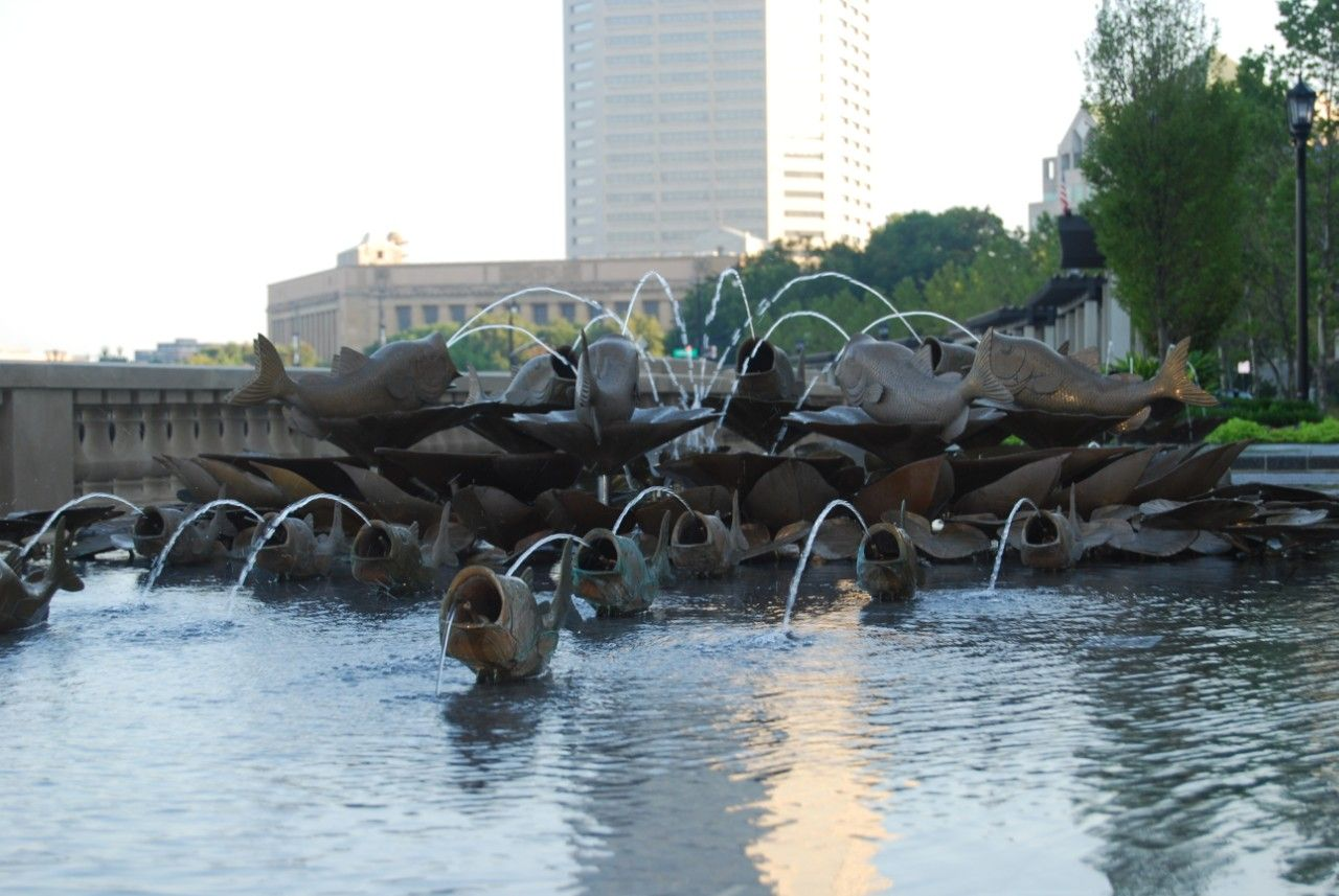 Bicentennial Park Amp Scioto Mile In Downtown Columbus Oh