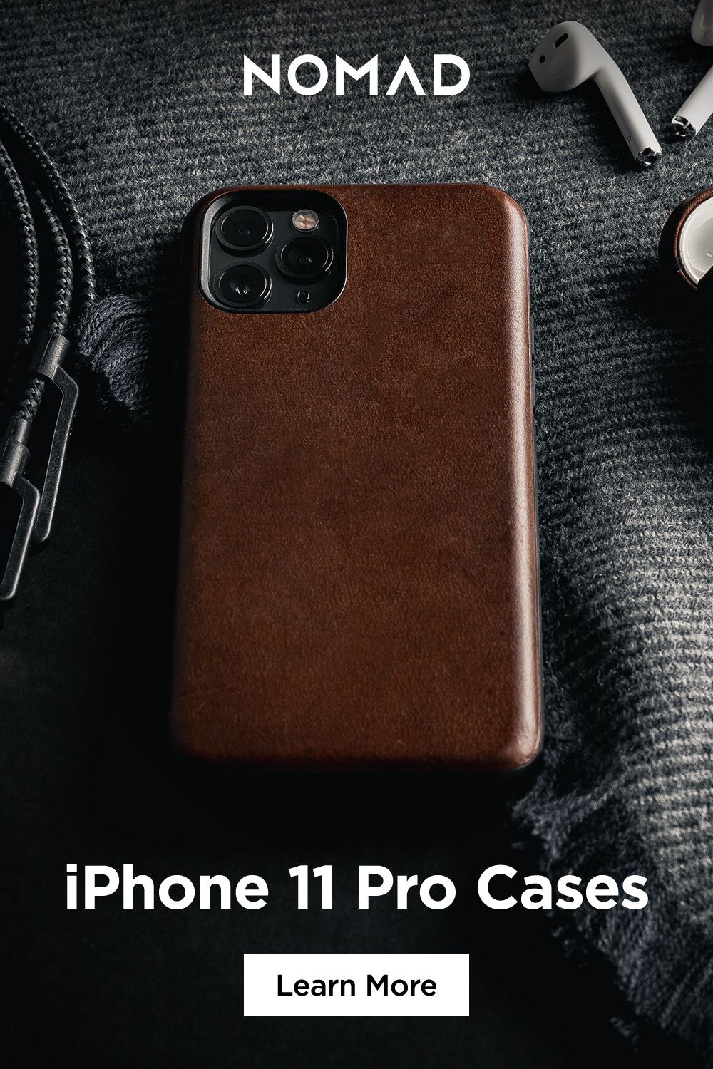 Nomad S Premium American Leather Cases For Iphone 11 Iphone 11 Pro And Iphone 11 Pro Max Not Only Look Great But Feel Grea Iphone Iphone Upgrade Iphone Cases