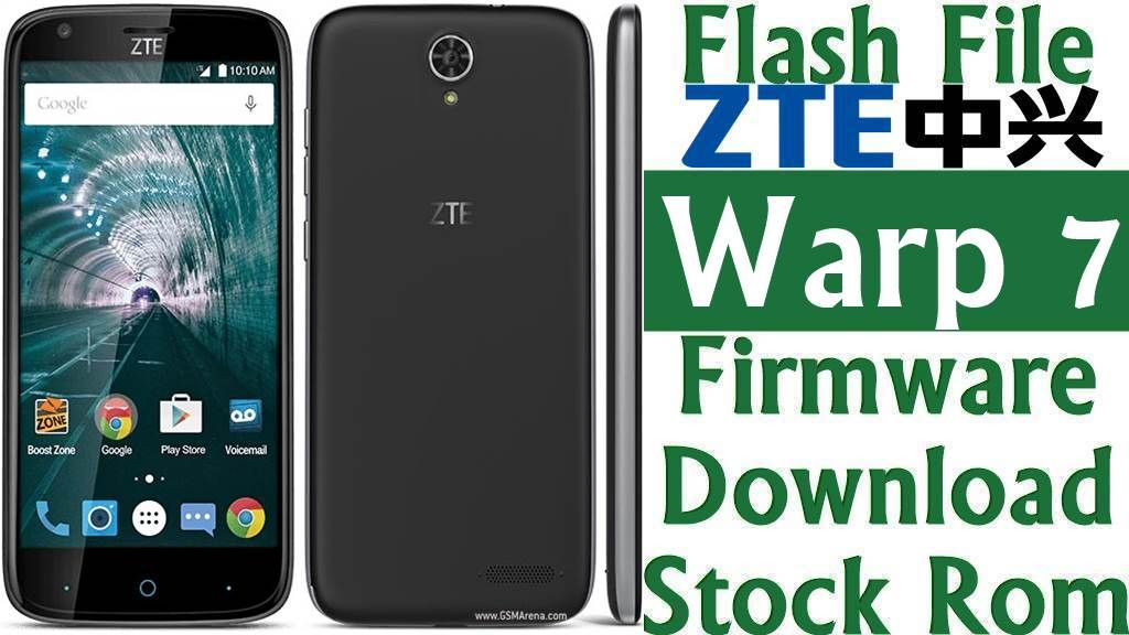 Zte Rom Flash 7 File n9519 Download stock Firmware Warp