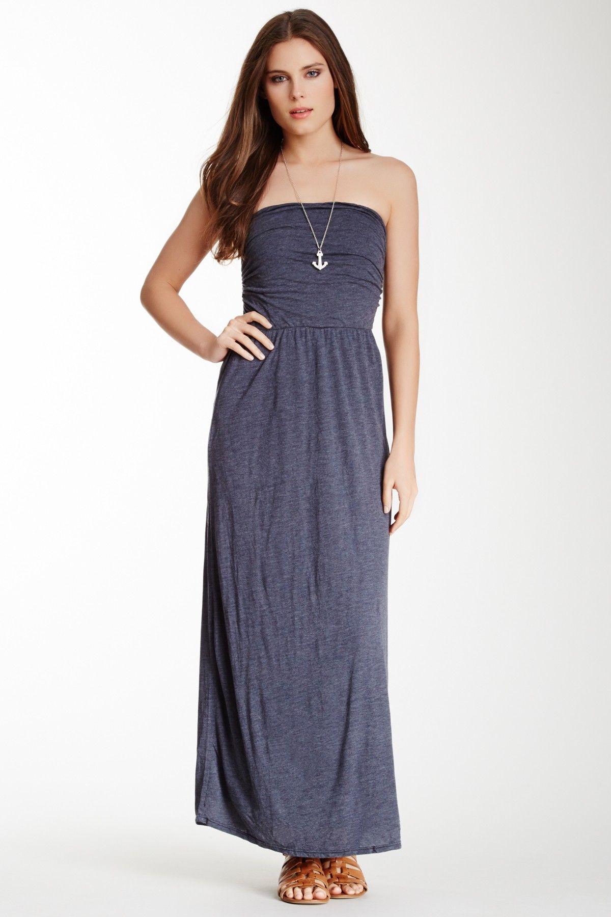 Splendid Summer Strapless Maxi Dress | sexy | Pinterest