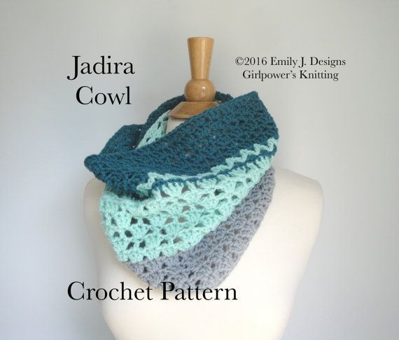 Crochet Cowl Pattern Easy Crochet Pattern Worsted By Girlpower