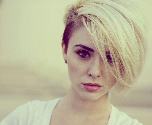 Hair Ideas For Short Hair Pinterest: Short Blonde Hair Style! Not All Hippie Girls Have To Have