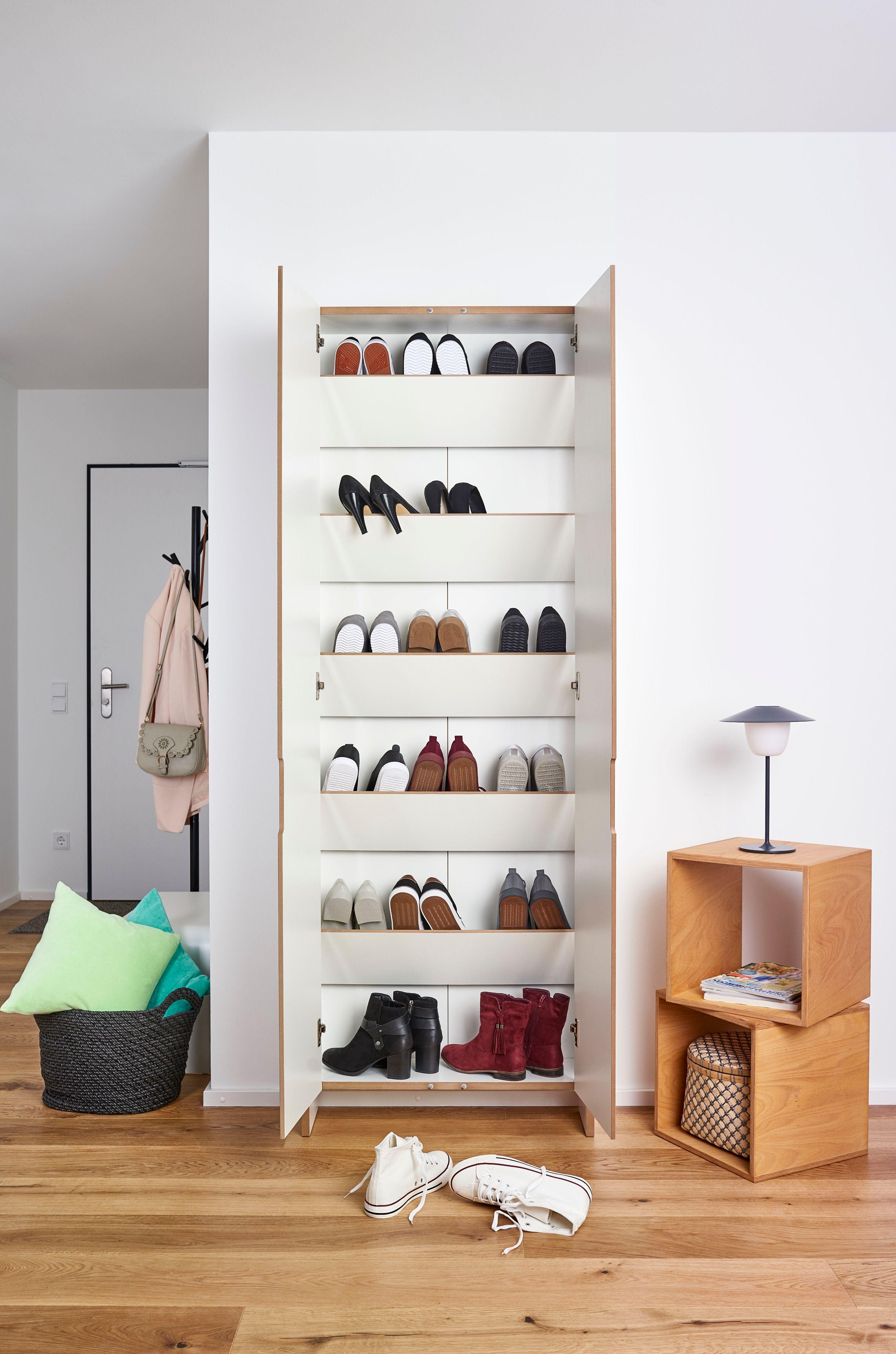 Flachmann Closet Hausmobel Schuhschrank Schrank