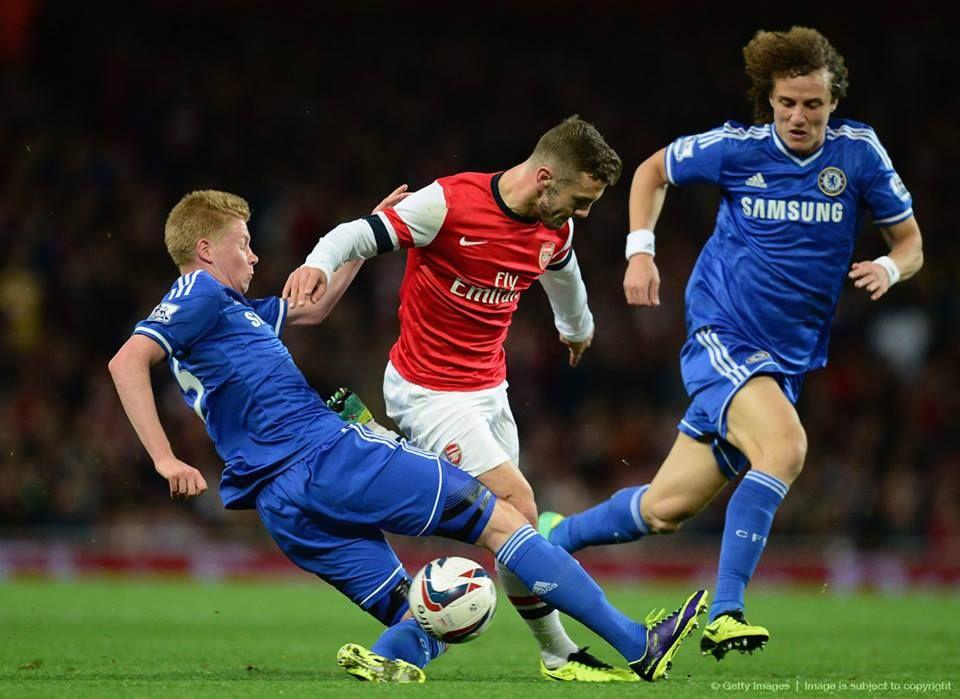 Wilshere vs Chelsea 2013. Arsenal, Chelsea, Sports