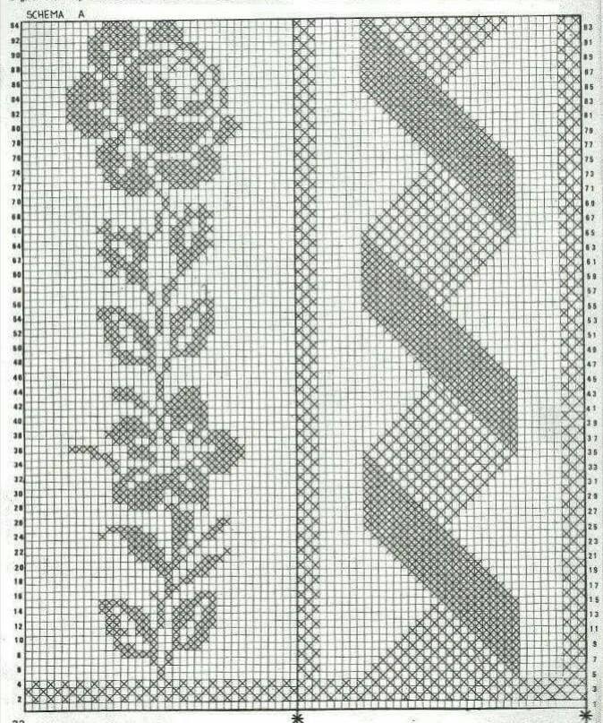 Colcha patrones ⭐ ESQUEMAS COLCHAS CROCHET GRATIS ▷ Crochet ...